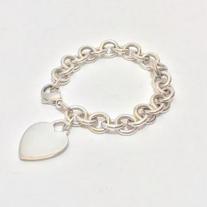 Tiffany &CO. Heart tag bracelet